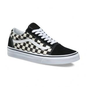 Boty Vans Old Skool PRIMARY CHECK BLACK/WHITE