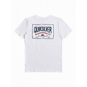 Tričko Quiksilver CLOUD CORNER SS WHITE