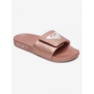 Pantofle Roxy SLIPPY SLIDE III ROSE GOLD