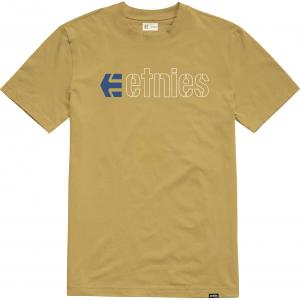 Tričko Etnies Ecorp Tee MUSTARD