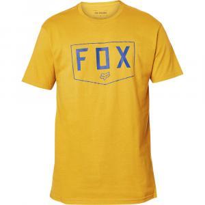 Tričko Fox Shield Ss  Premium Tee Mustard