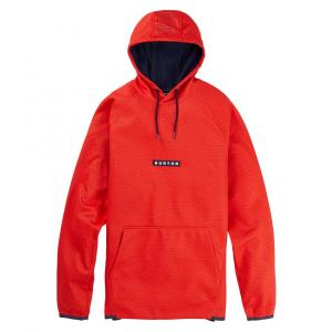 Mikina Burton Crown Weatherproof Pullover Fleece Flame Scarlet Heather