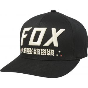 Kšiltovka Fox Triple Threat Flexfit Hat Black