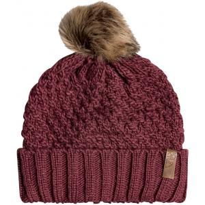 Čepice Roxy BLIZZARD BEANIE OXBLOOD RED