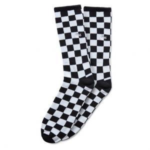 Ponožky Vans CHECKERBOARD CREW Black/White
