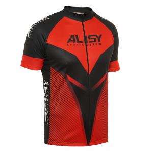 Pánský cyklodres Alisy Speedy Men hobby red