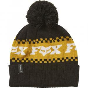 Čepice Fox Overkill Beanie Black/Yellow