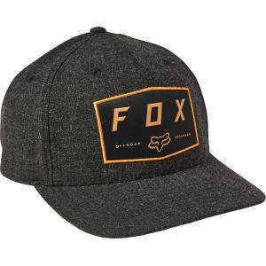 Kšiltovka Fox Badge Flexfit Hat Black
