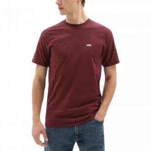 Tričko Vans LEFT CHEST LOGO TEE PORT ROYALE/WHITE