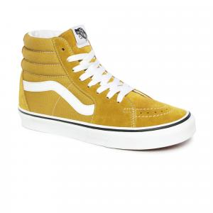 Boty Vans SK8-Hi OLIVE OIL/TRUE WHITE