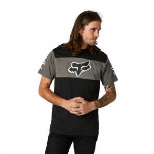 Tričko Fox Mirer Ss Crew Tee Black