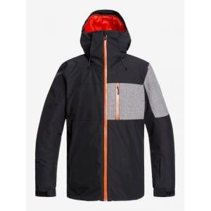 Zimní bunda Quiksilver MISSION PLUS JK BLACK