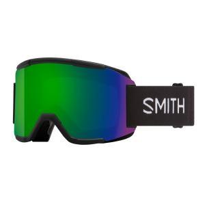Lyžařské brýle Smith SQUAD BLACK/CHROMAPOP SUN GREEN MIRROR