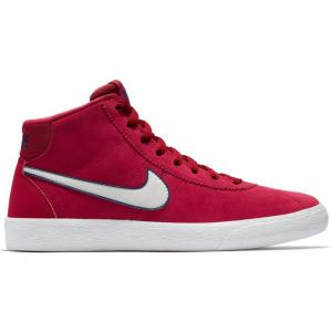 Boty Nike WMNS SB BRUIN HI red crush/vast grey-white