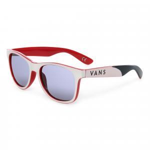 Sluneční brýle Vans SPICOLI 4 SHADES White/Chili Pepper
