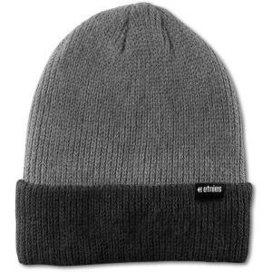 Čepice Etnies Warehouse Block Beanie BLACK/HEATHER