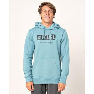 Mikina Rip Curl BOXED HOODED POP OVER  Mid Blue