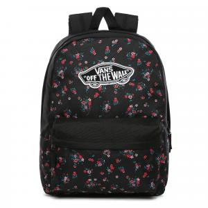 Batoh Vans REALM BACKPACK BEAUTY FLORAL BLACK
