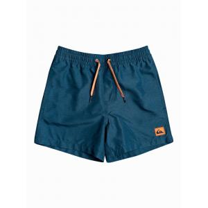 Koupací šortky Quiksilver EVERYDAY VOLLEY YOUTH 13 MAJOLICA BLUE HEATHER
