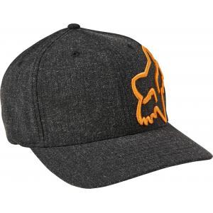 Kšiltovka Fox Clouded Flexfit 2.0 Hat Black/Gold