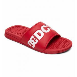 Pantofle DC BOLSA SE RED/WHITE