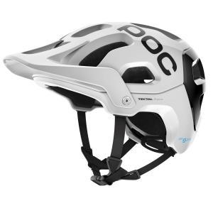 Cyklistická helma POC Tectal Race SPIN Hydrogen White/Uranium Black