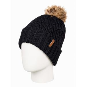 Čepice Roxy BLIZZARD BEANIE TRUE BLACK