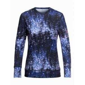 Termo tričko Roxy DAYBREAK TOP MEDIEVAL BLUE SPARKLES