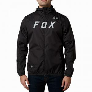 Bunda Fox Moth Windbreaker Black/Grey