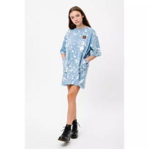 Šaty Santa Cruz Kit Dress Blue/White
