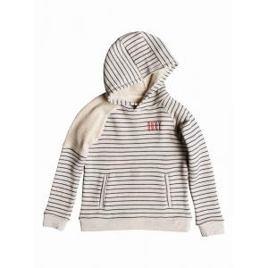 Mikina Roxy SPARK IN YOU GIRL METRO HEATHER SIMPLE STRIPE