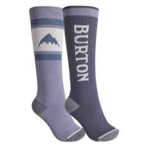 Ponožky Burton Weekend Midweight Sock 2-Pack FOXGLV/FLKSTG