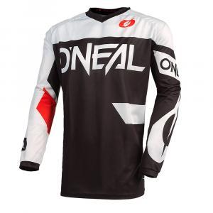 Pánský cyklodres Oneal ELEMENT Jersey RACEWEAR black/white