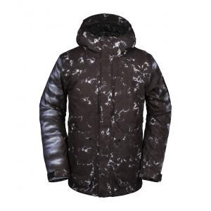 Zimní bunda Volcom Scortch Ins Jacket Black Print