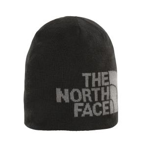 Čepice The North Face HIGHLINE BETA BEANIE TNF BLACK/TNF MEDIUM GREY HTR