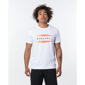 Tričko Rip Curl NEON S/S TEE  Optical White
