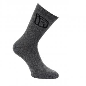 Ponožky Funstorm Druff 3 pack dark grey