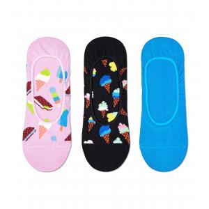 Ponožky Happy Socks 3-Pack Ice Cream Liner Sock