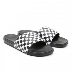 Pantofle Vans La Costa Slide-On Checkerboard True White/Black
