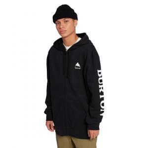 Mikina Burton ELITE Full-Zip Hoodie TRUE BLACK