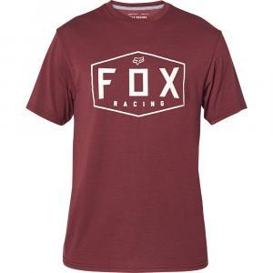 Tričko Fox Crest Ss Tech Tee Cranberry