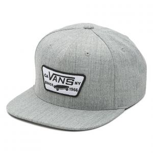 Kšiltovka Vans Full patch snapback heather grey