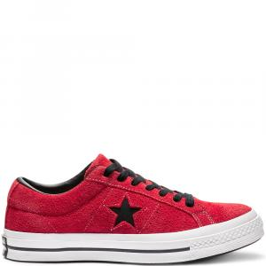 Boty Converse One Star enamel red/black/white