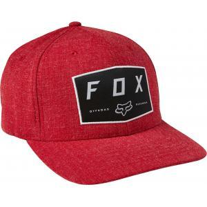 Kšiltovka Fox Badge Flexfit Hat Chilli