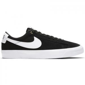 Boty Nike SB ZOOM BLAZER LOW PRO GT black/white-black-gum light brown