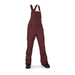 Snowboardové kalhoty Volcom Swift Bib Overall Scarlet