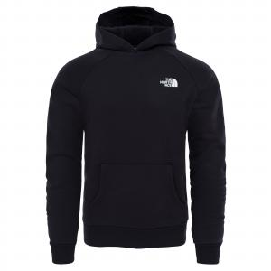 Mikina The North Face RAGLAN REDBOX HOODIE TNF BLACK