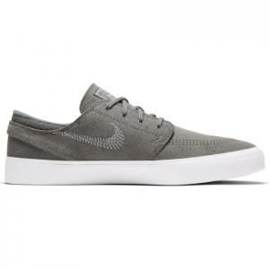 Boty Nike SB ZOOM JANOSKI FLYLEATHER RM  tumbled grey/white-tumbled grey-white