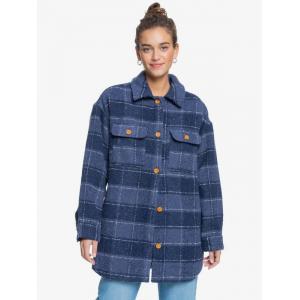 Zimní bunda Roxy MAKE IT HAPPEN MOOD INDIGO PLAID PARTY