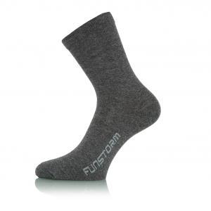 Ponožky Funstorm Kepor dark grey